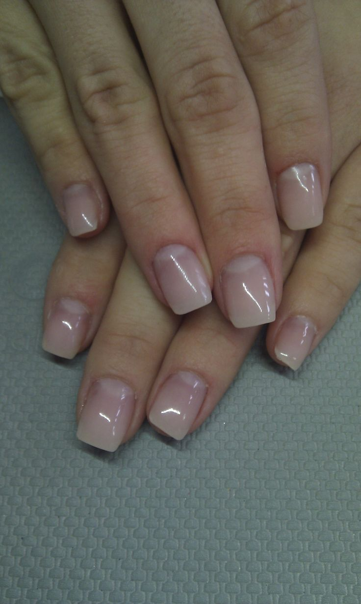 natural looking gel nails pictures photo - 1