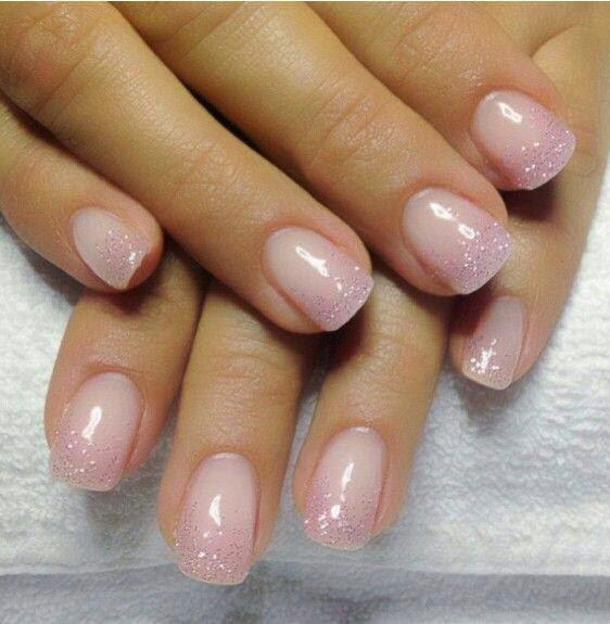 Natural Pink Gel Nails Expression Nails