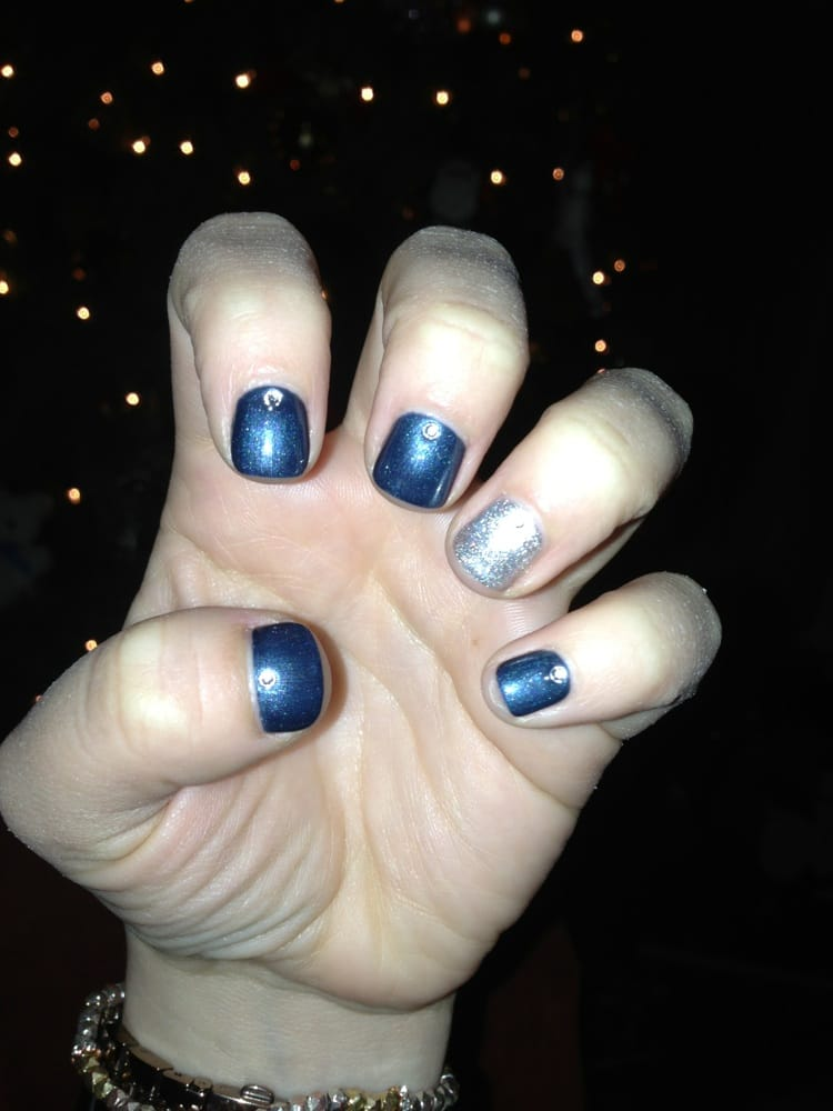 Navy Blue And Silver Nails Nail And Manicure Trends,New York Institute Of Art And Design Login