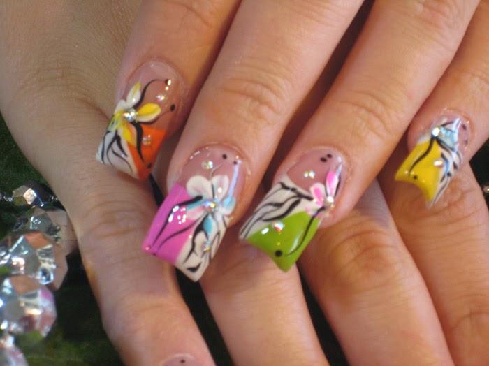New acrylic nails - Expression Nails
