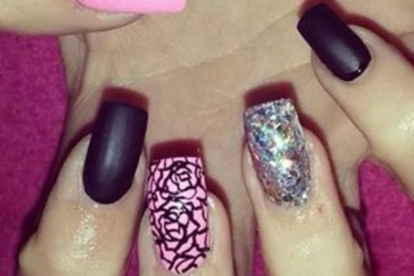 Nice acrylic nails - Expression Nails
