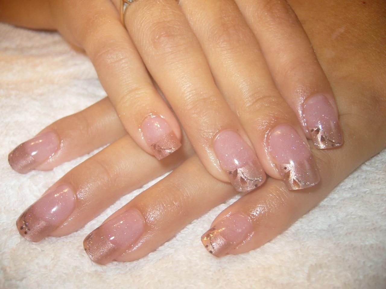 nice gel nails photo - 1