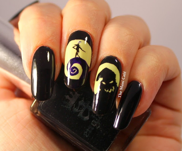 Nightmare before christmas stiletto nails , New Expression Nails