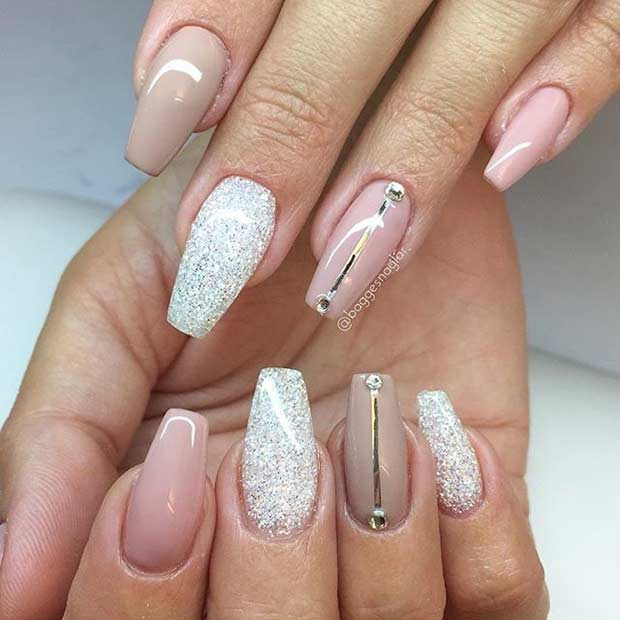 nude coffin nails photo - 2