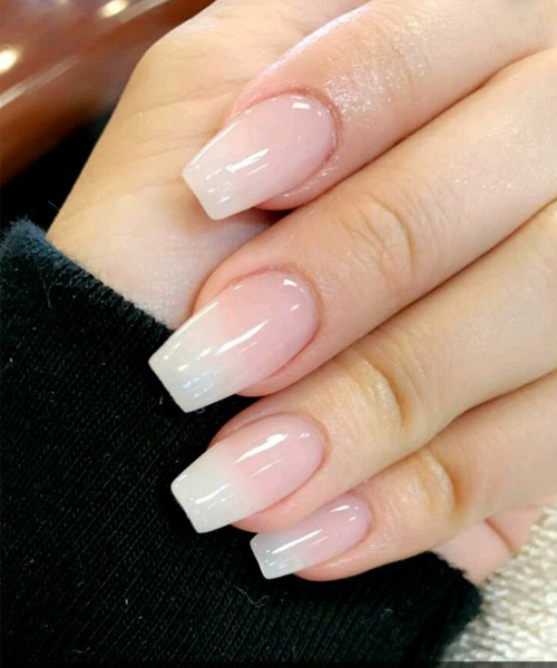ombre gel nails designs photo - 1 - Ombre Gel Nails Designs - Expression Nails