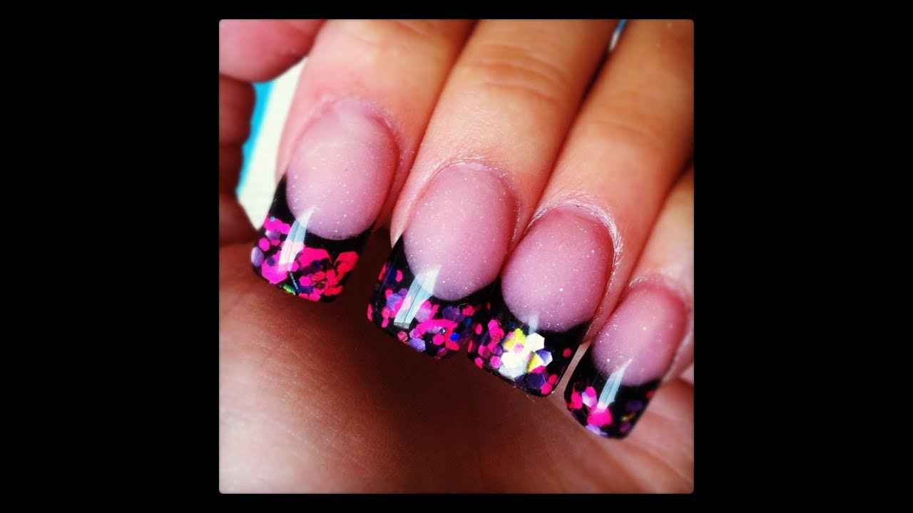 Organic Acrylic Nails Photo