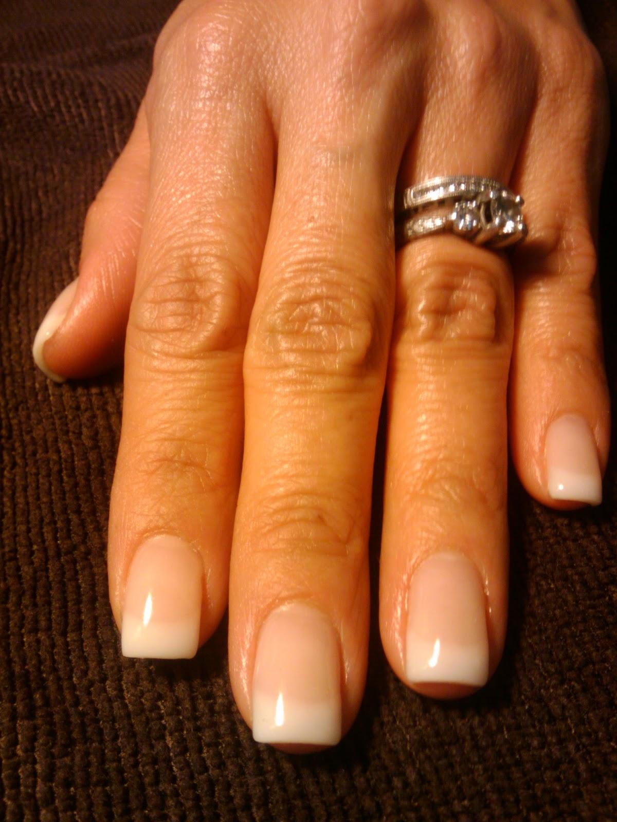 Organic gel nails - Expression Nails