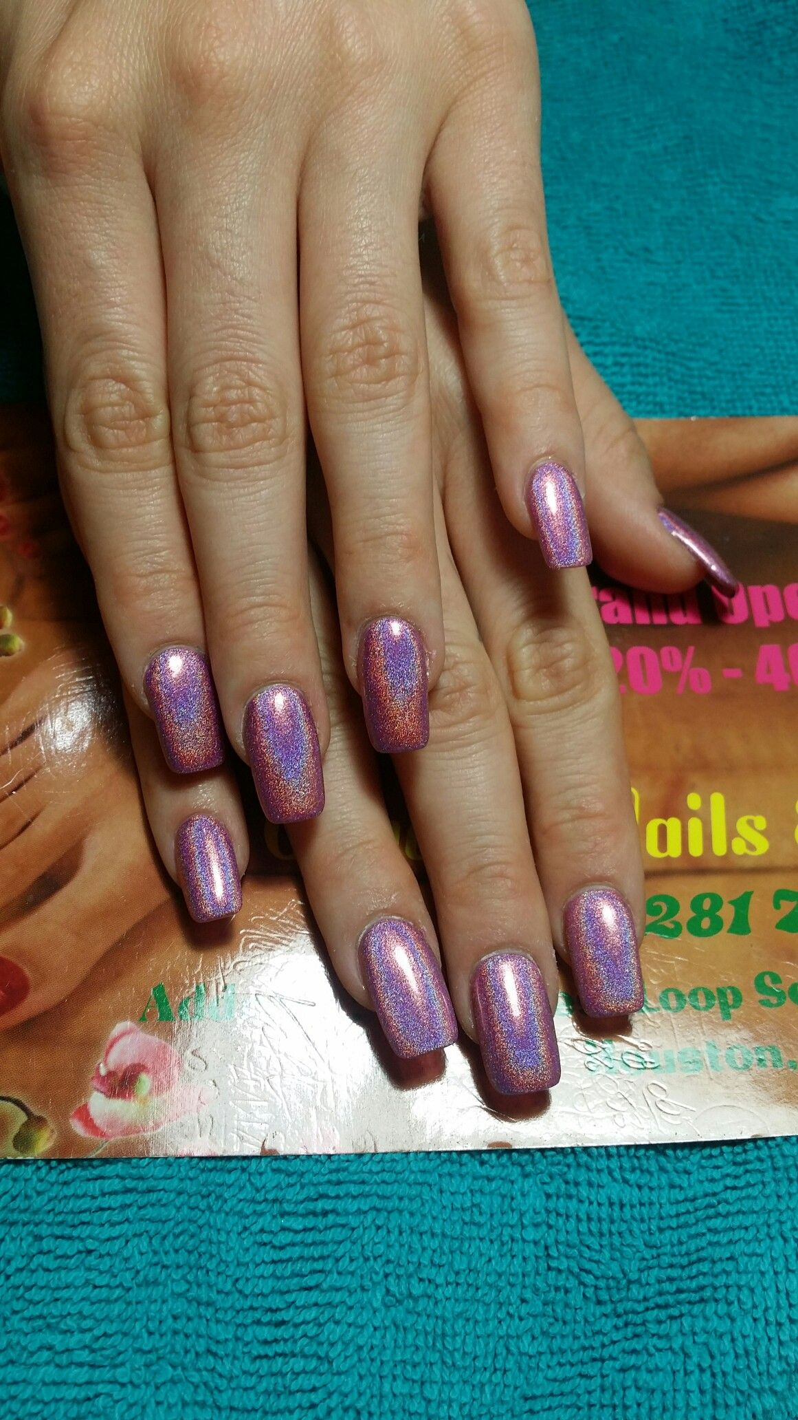 organic gel nails houston photo - 2