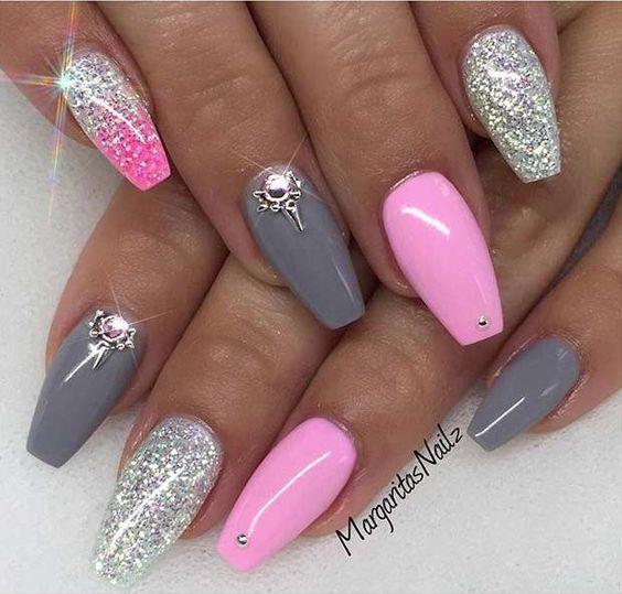 Oval Acrylic Nails Expression Nails