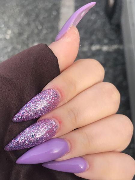 pastel stiletto nails photo - 2