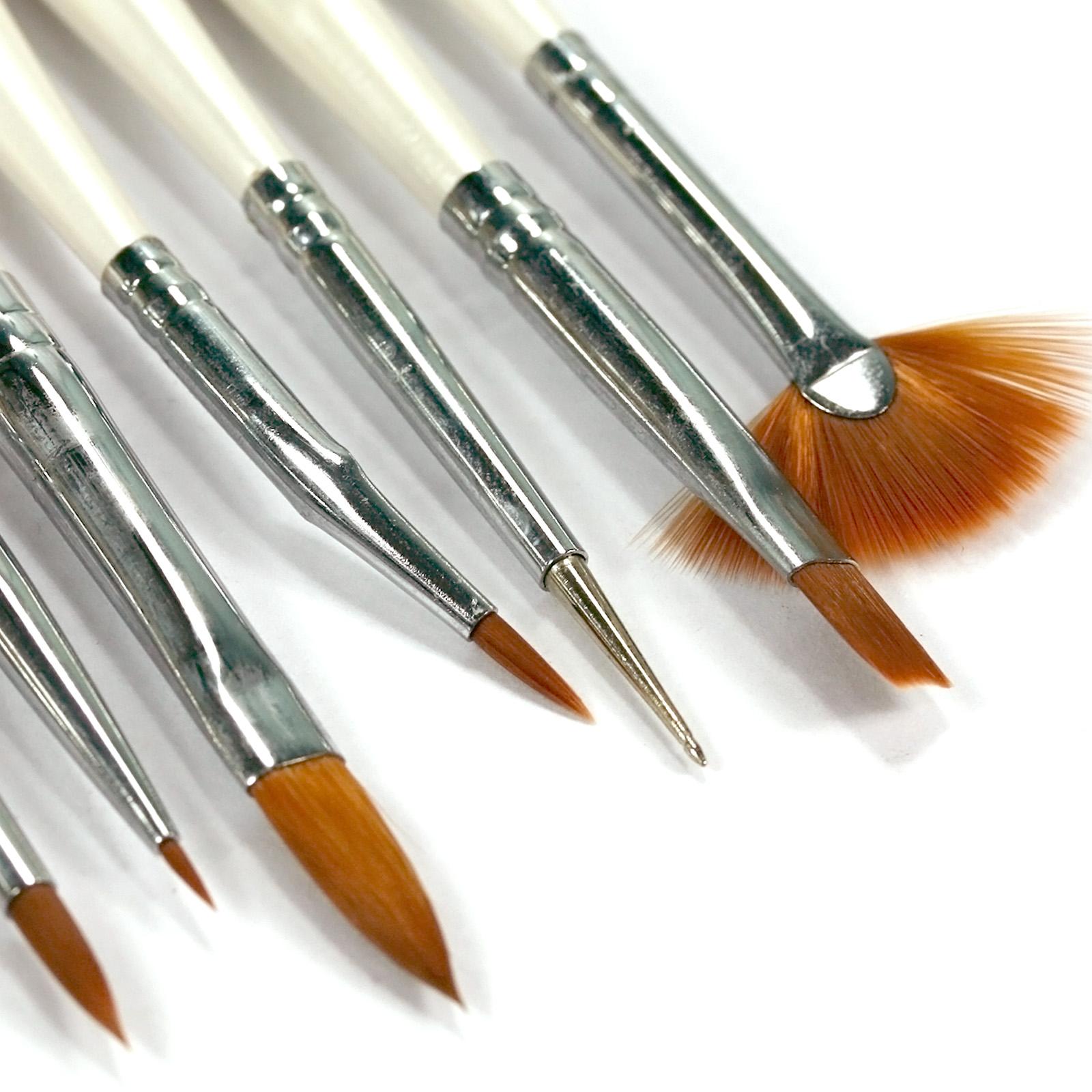 pen on gel nails photo - 2