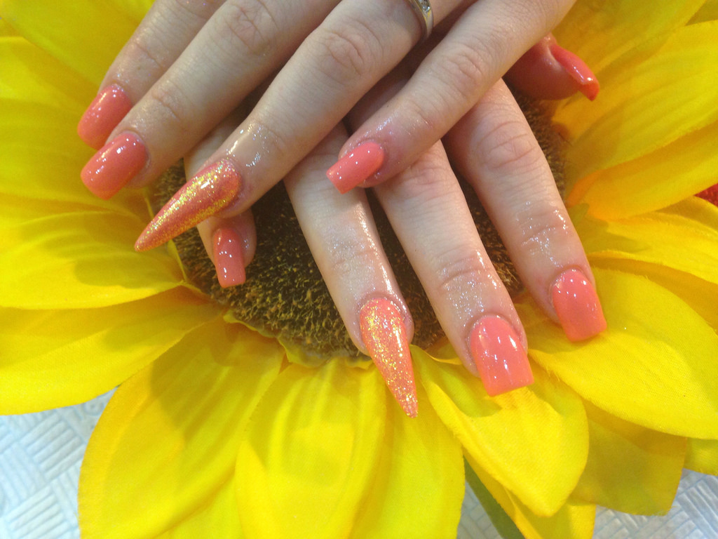 pictures of acrylic nails photo - 2
