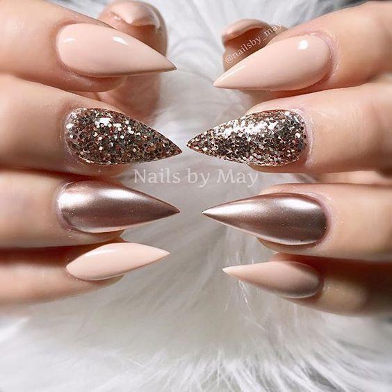 plantation acrylic nails photo - 2