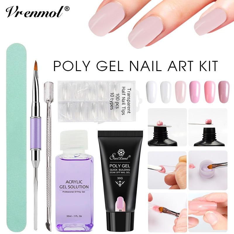 poly gel vs. hard gel nails photo - 1