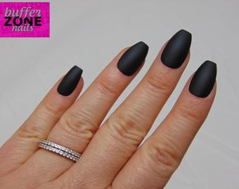 Press on coffin nails - Expression Nails