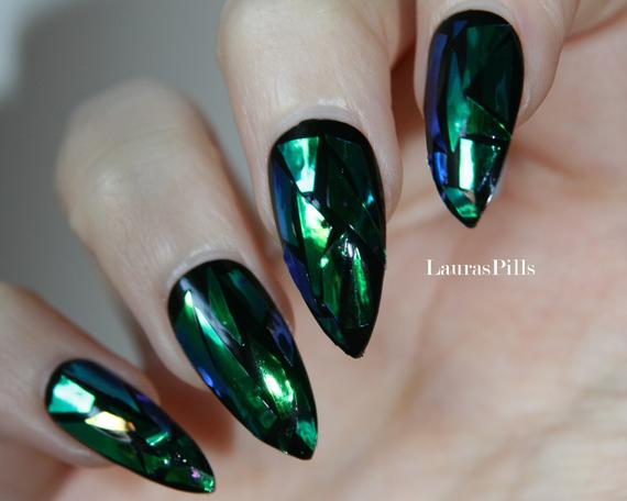 press on stiletto nails photo - 1