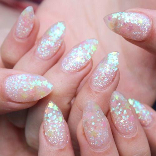 pretty acrylic nails designs photo - 1