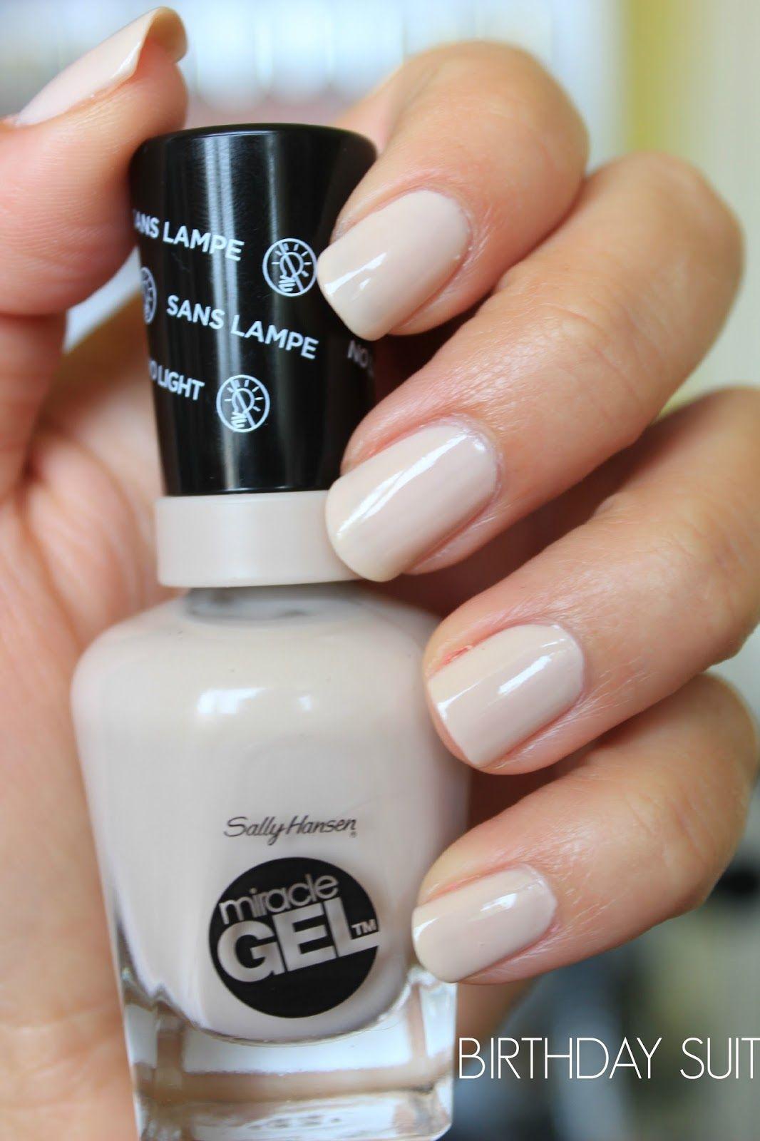 procedure for sally hansens gel nails photo - 1