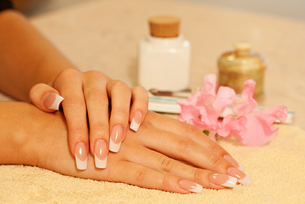 Professional Acrylic Nails Photo