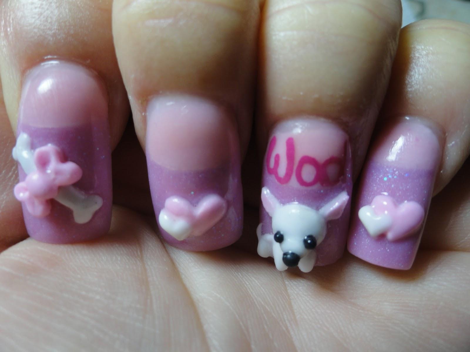 professional acrylic nails weaken nails photo - 1