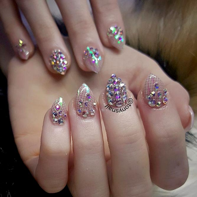 real short stiletto nails photo - 1