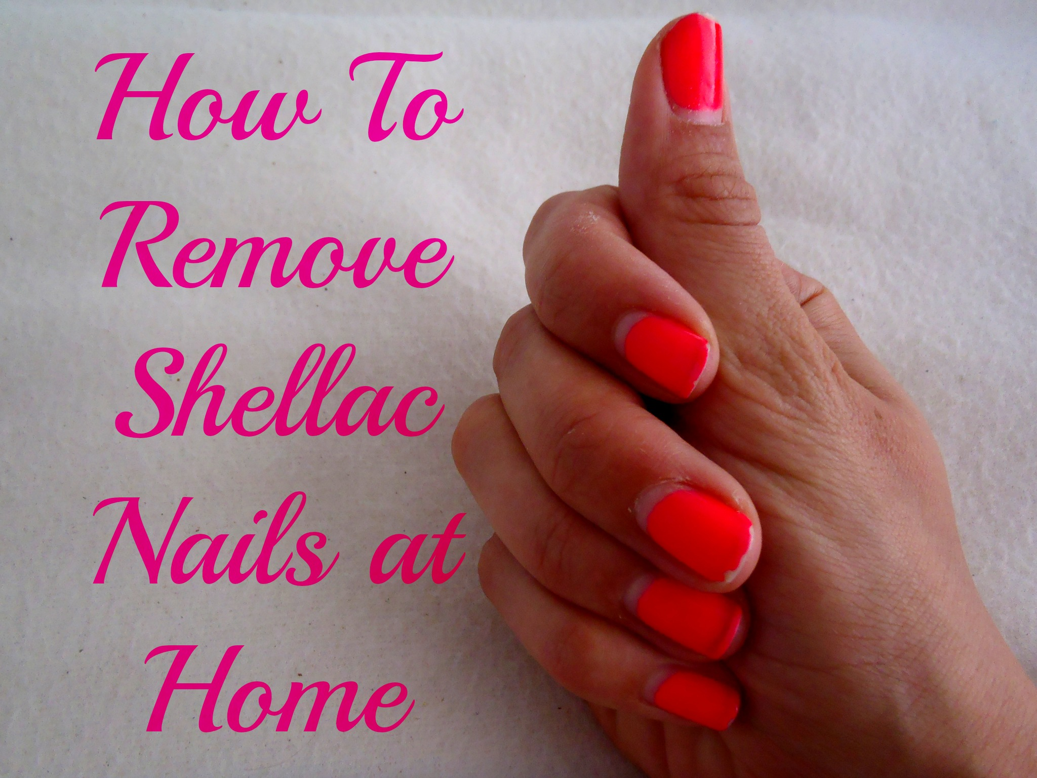 removing shellac gel nails photo - 1