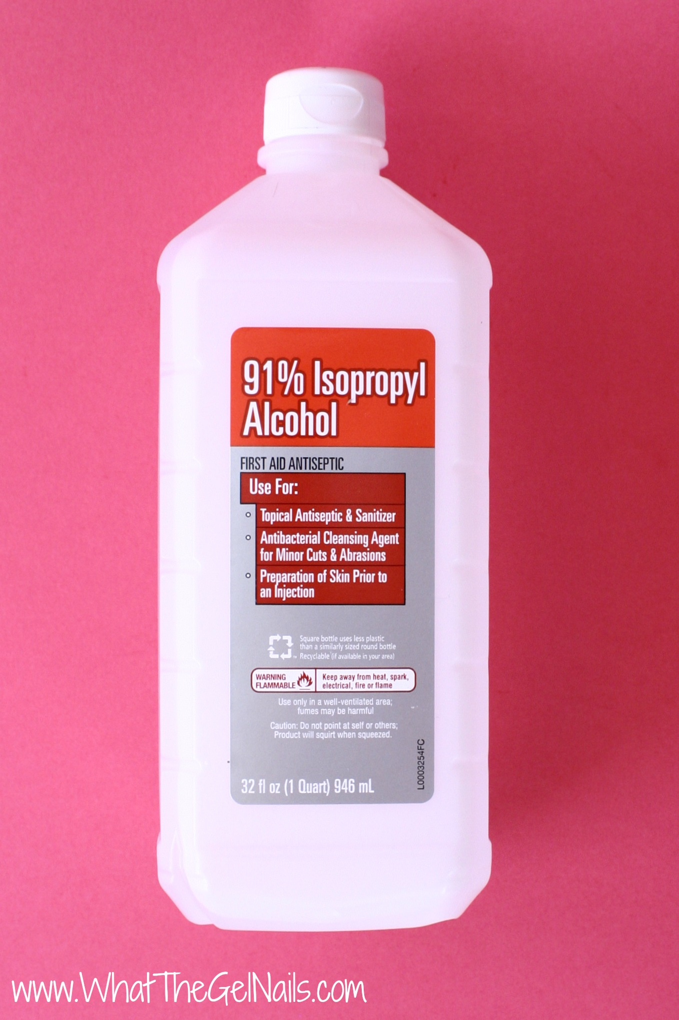 rubbing alcohol for gel nails photo - 2
