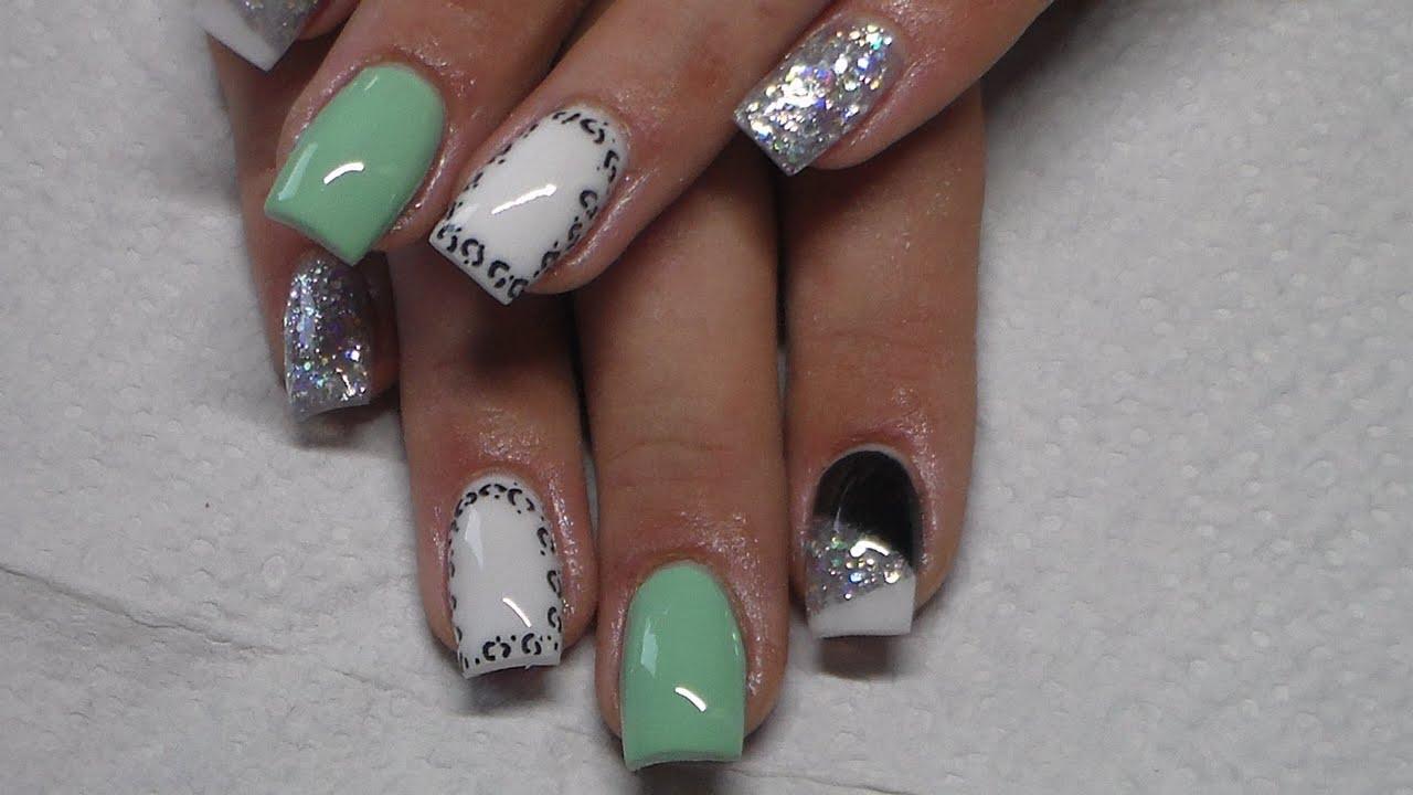 Sculpted acrylic nails - Expression Nails
