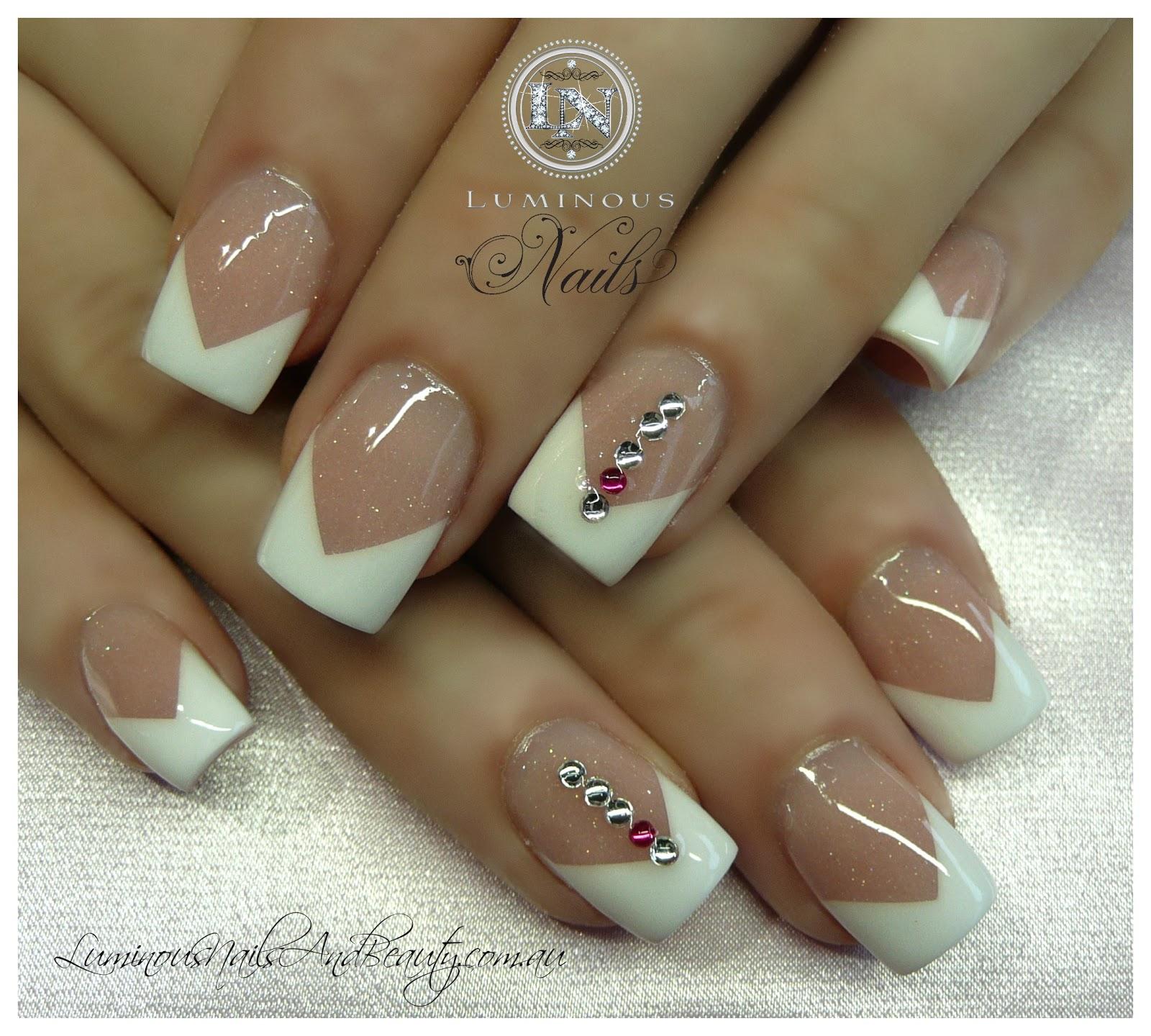 sculptured gel nails photo - 1