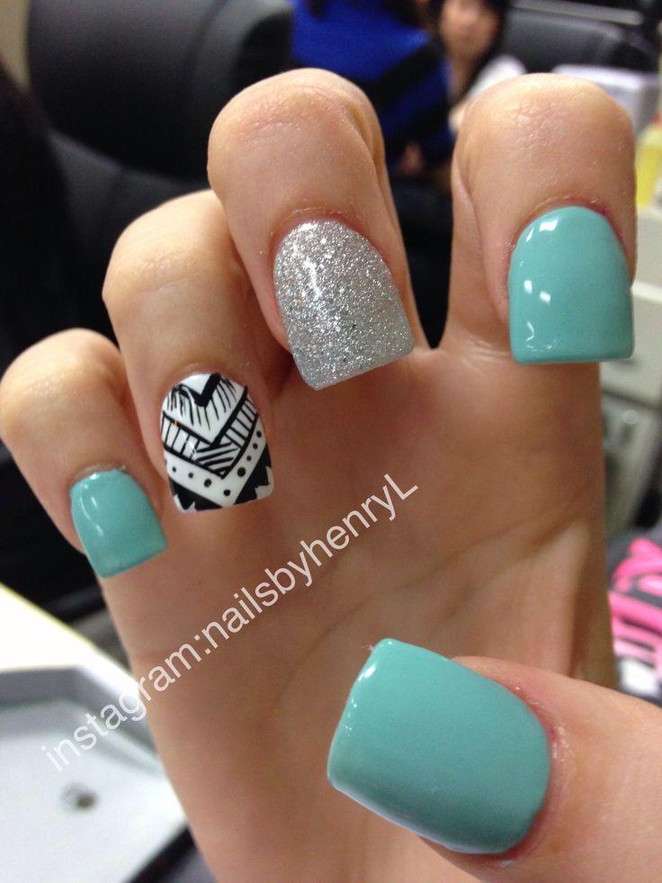 Short acrylic nails tumblr - Expression Nails