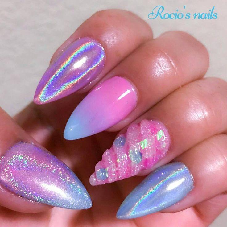 short fall acrylic nails photo - 1