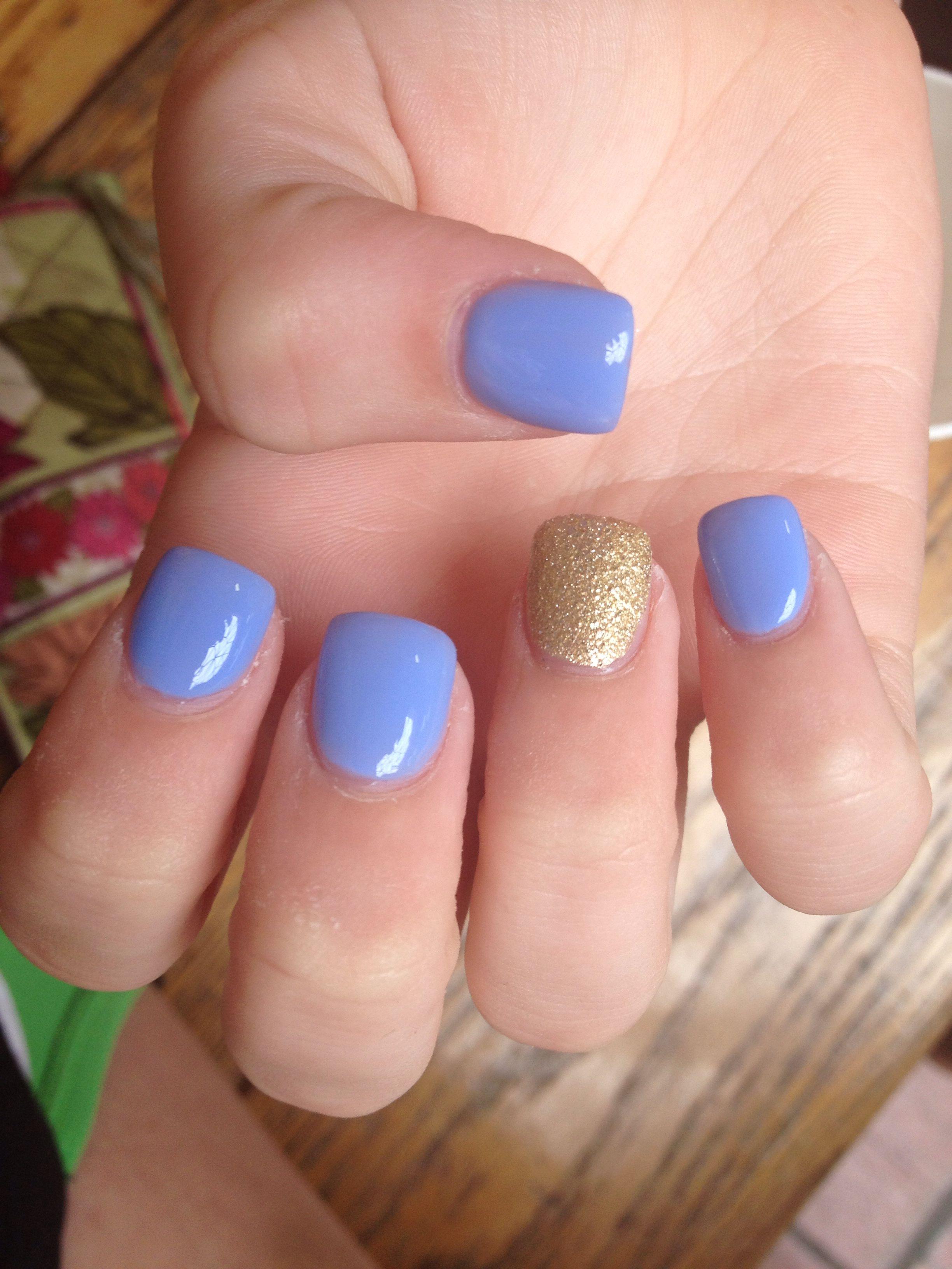 short gel acrylic nails photo - 2