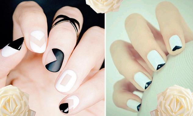 Short Round Acrylic Nails Photo