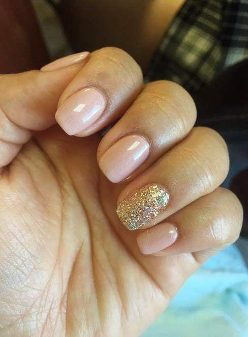 short round gel nails photo - 2