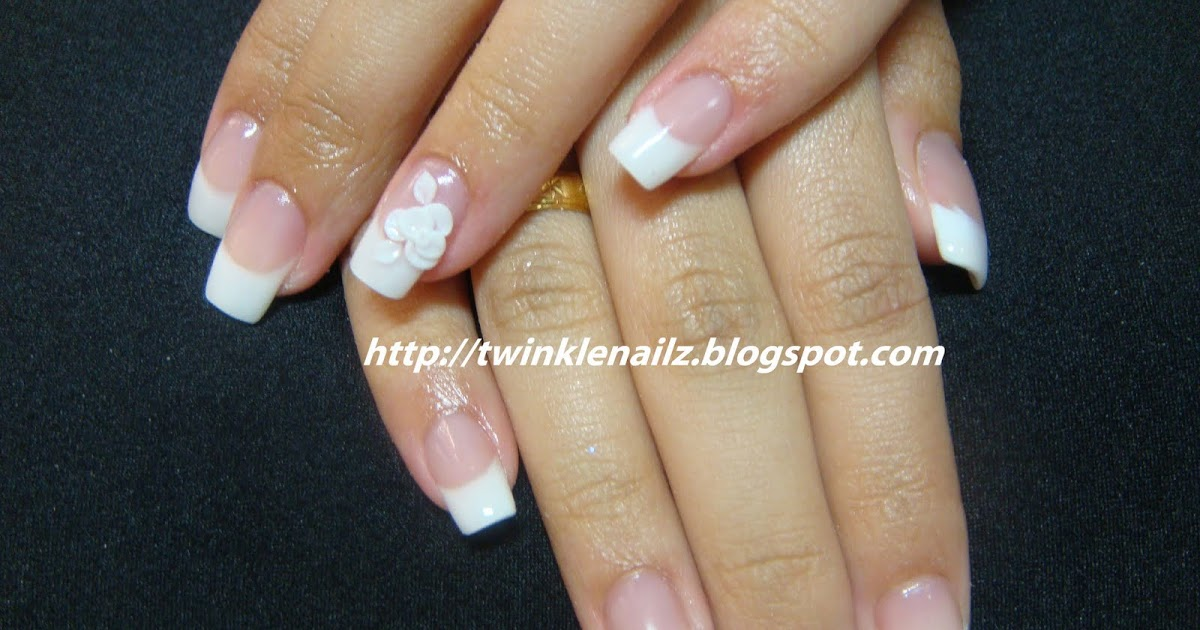 shorten acrylic nails at home photo - 2