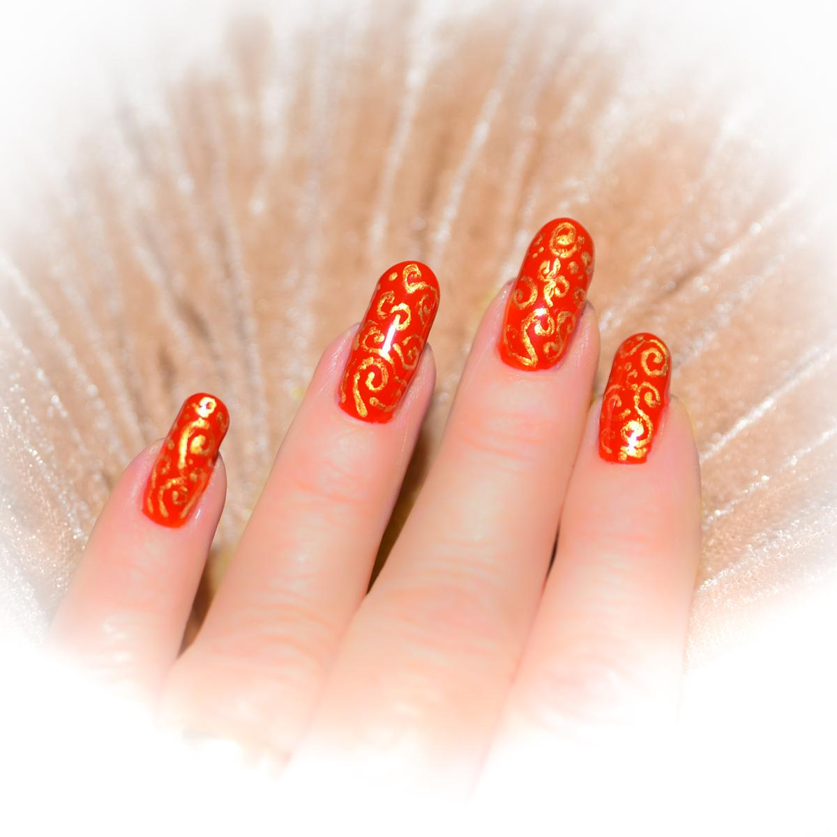 silk wrap nails vs acrylic photo - 2
