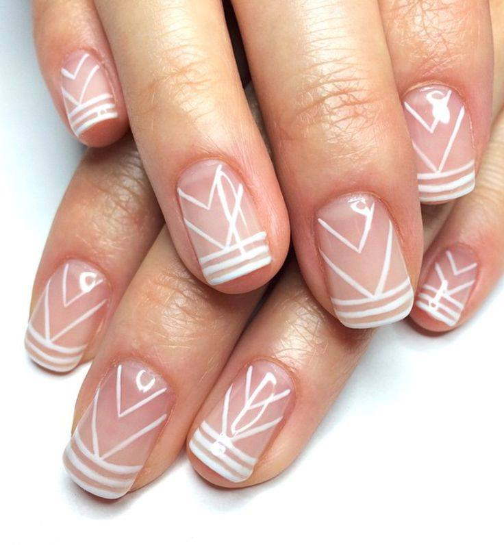 simple gel nails designs photo - 1 - Simple Gel Nails Designs - Expression Nails