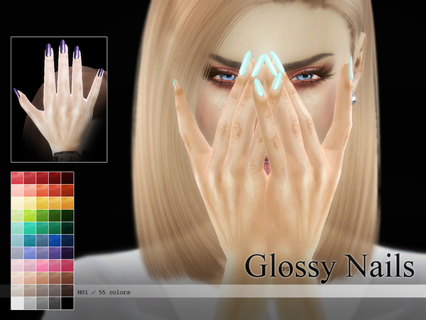sims 4 coffin nails photo - 1