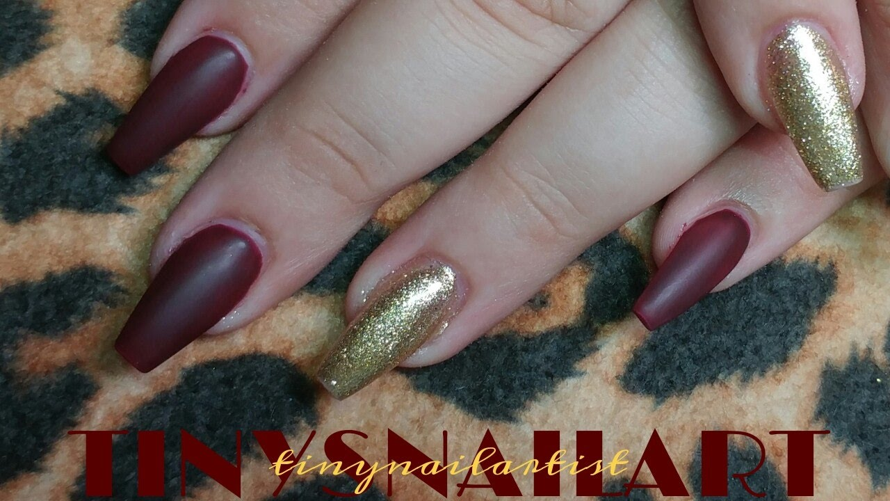 Small coffin nails - Expression Nails