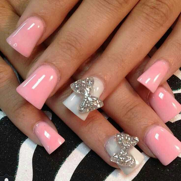 small wide nails w acrylic nails photo - 2