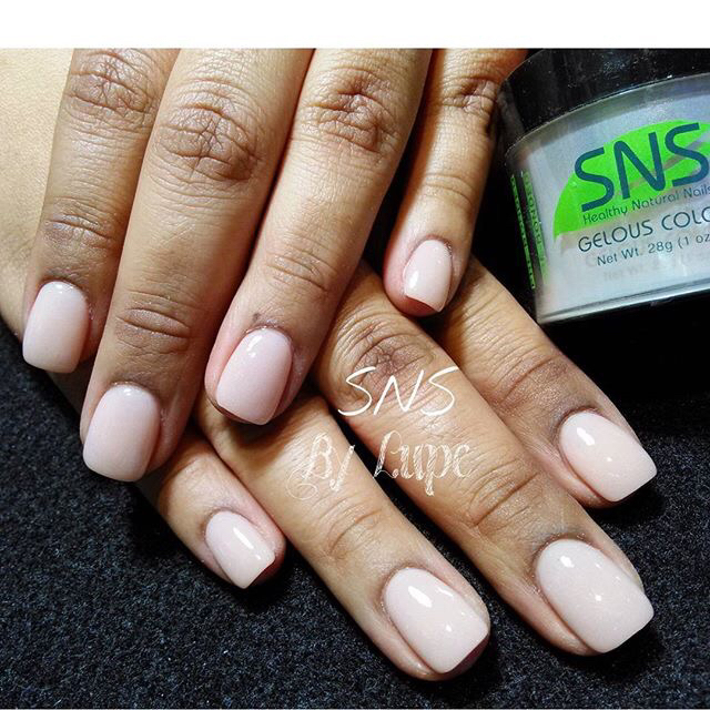 Sns nails vs gel - Expression Nails
