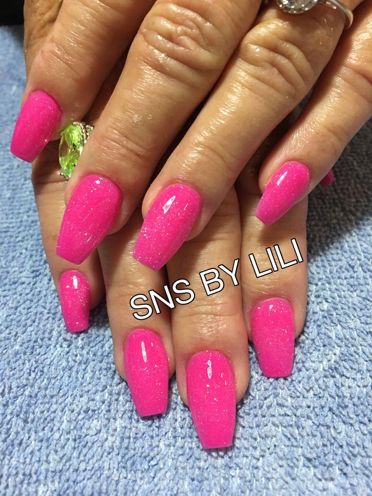 sns nails vs gel nails photo - 2