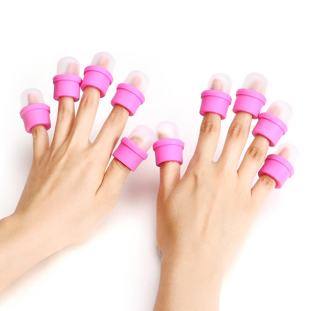 soak gel nails in nail polish remover photo - 2