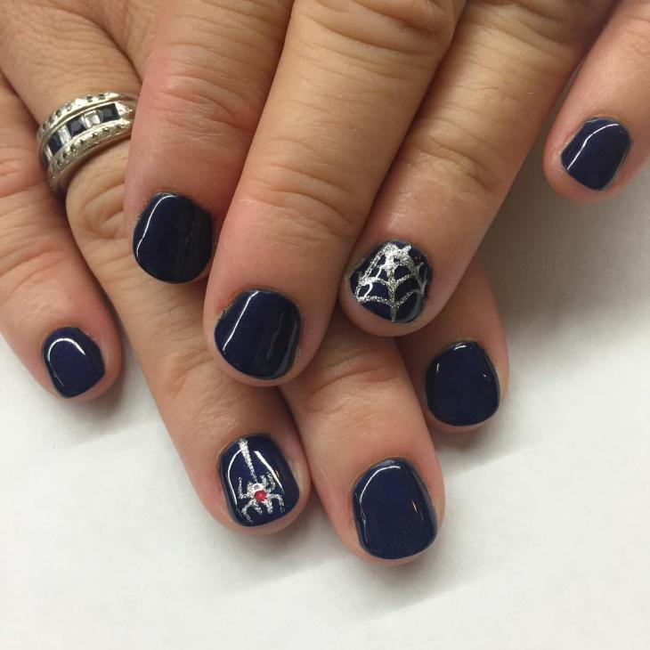 spider gel nails photo - 1