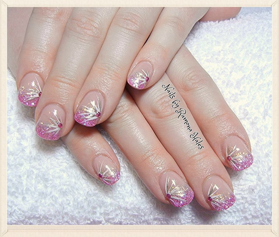 Sport length acrylic nails - Expression Nails