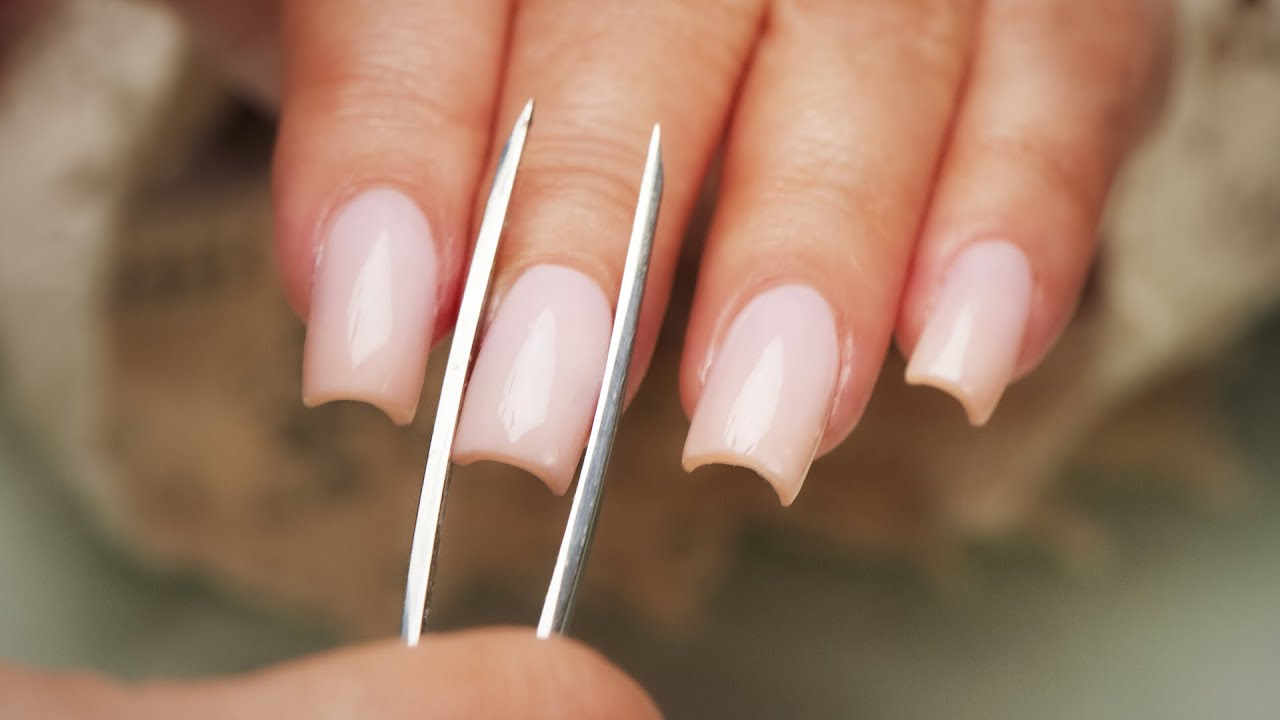 sport length acrylic nails photo - 2