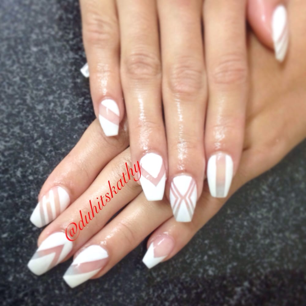 sport length gel nails photo - 2