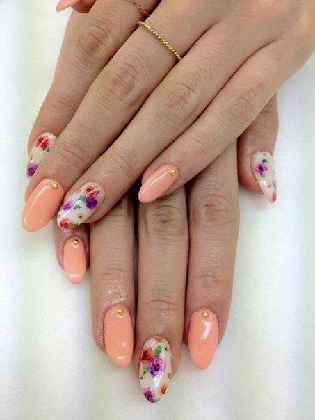 spring stiletto nails photo - 2