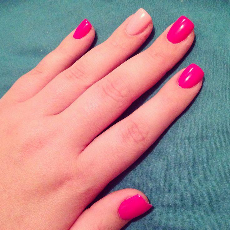 square round acrylic nails photo - 1
