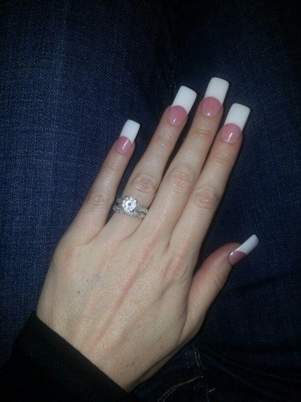 square shaped acrylic nails photo - 2